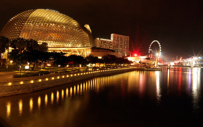 Esplanade – Theatres on the Bay wallpaper