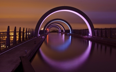 Falkirk Wheel wallpaper