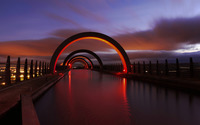 Falkirk Wheel, Scotland wallpaper 1920x1080 jpg