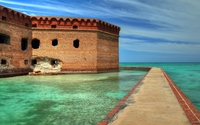 Fort Jefferson, Florida wallpaper 2560x1440 jpg