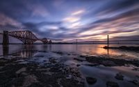 Forth Bridges wallpaper 1920x1200 jpg