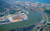 Free port of Ventspils wallpaper 1920x1200 jpg