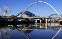 Gateshead Millennium Bridge wallpaper 1920x1080 jpg
