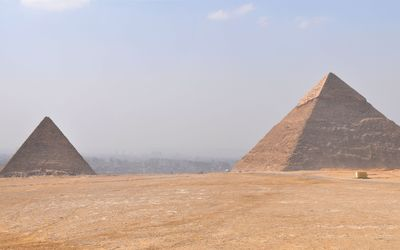 Giza Plateau wallpaper