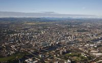 Glasgow aerial view wallpaper 2880x1800 jpg