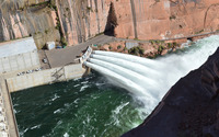 Glen Canyon Dam Bridge wallpaper 2560x1600 jpg