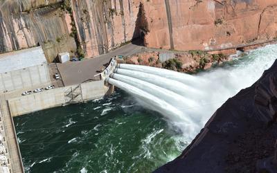 Glen Canyon Dam Bridge wallpaper
