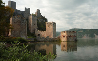 Golubac Fortress wallpaper 2880x1800 jpg