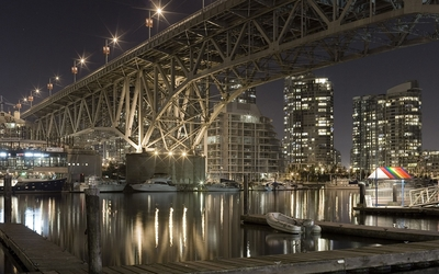 Granville Street Bridge in Vancouver wallpaper