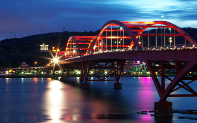 Guandu Bridge wallpaper