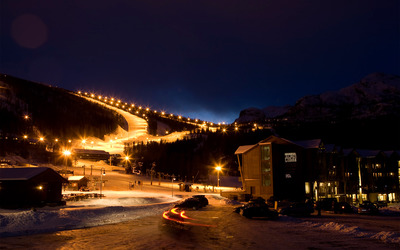 Hemsedal ski resort, Norway wallpaper