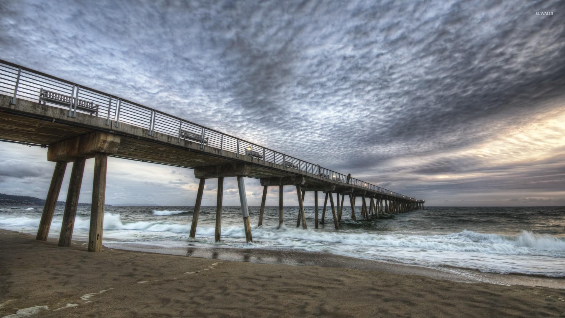 Hermosa Beach Pier 2 Wallpaper World Wallpapers 45048