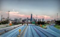 Highway to Chicago wallpaper 1920x1200 jpg