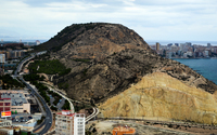 Hill on the coast of Alicante wallpaper 3840x2160 jpg