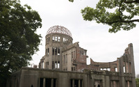 Hiroshima Peace Memorial Park wallpaper 1920x1200 jpg