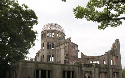 Hiroshima Peace Memorial Park wallpaper