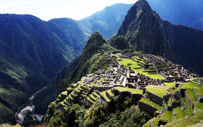 Historic Sanctuary of Machu Picchu wallpaper