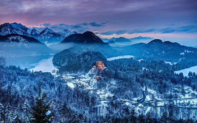 Hohenschwangau Castle Wallpaper