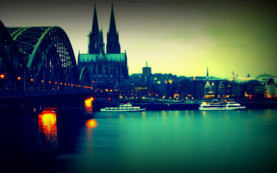 Hohenzollern bridge wallpaper