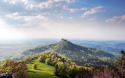 Hohenzollern Castle wallpaper