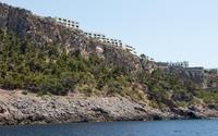 Houses on the coast of Port de Soller wallpaper 3840x2160 jpg