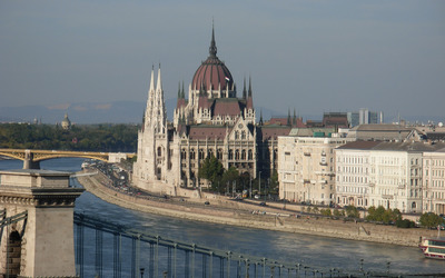 Hungarian Parliament Building [5] wallpaper