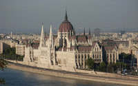 Hungarian Parliament Building wallpaper 2560x1600 jpg