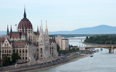 Hungarian Parliament Building [8] wallpaper