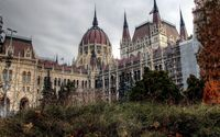 Hungarian Parliament Building in Budapest wallpaper 1920x1080 jpg