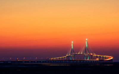 Incheon Bridge wallpaper