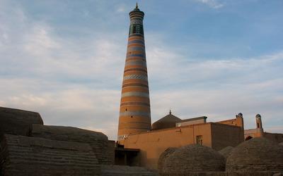 Islam Khodja minaret wallpaper
