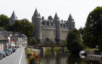 Josselin Castle wallpaper 1920x1200 jpg