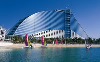 Jumeirah Beach Hotel wallpaper 1920x1200 jpg