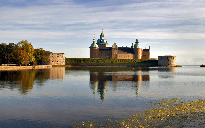 Kalmar Castle Sweden Wallpaper