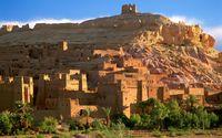 Kasbah ruins wallpaper 1920x1200 jpg