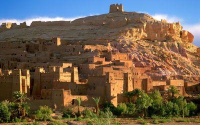 Kasbah ruins wallpaper