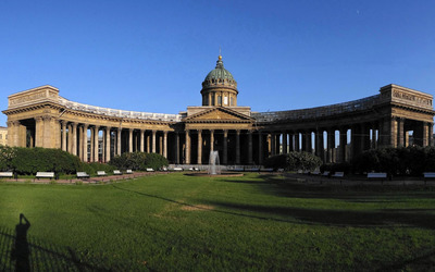 Kazan Cathedral, Saint Petersburg wallpaper
