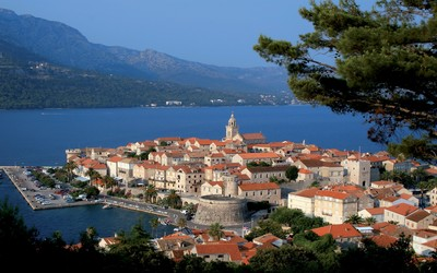 Korcula wallpaper
