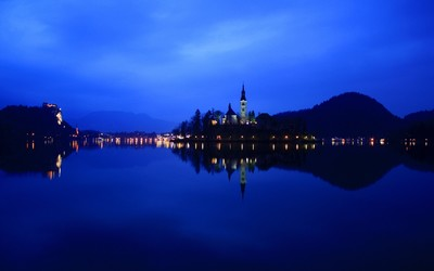 Lake Bled wallpaper