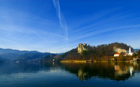 Lake Bled [2] wallpaper 2880x1800 jpg