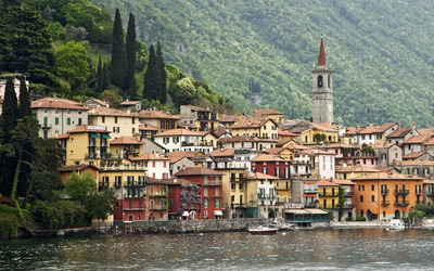 Lake Como, Lombardy wallpaper