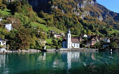 Lake Lucerne Wallpaper