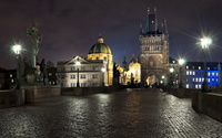 Lights in Prague wallpaper 2560x1600 jpg