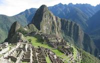 Machu Picchu ruins wallpaper 1920x1200 jpg
