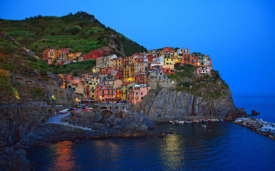 Manarola, Liguria wallpaper