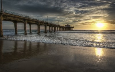 Manhattan Beach Pier wallpaper