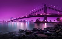 Manhattan Bridge wallpaper 2560x1600 jpg