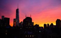 Manhattan skyline wallpaper 2880x1800 jpg