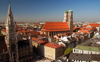 Marienplatz wallpaper 1920x1200 jpg