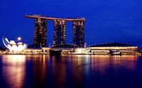 Marina Bay Sands [4] wallpaper 1920x1200 jpg